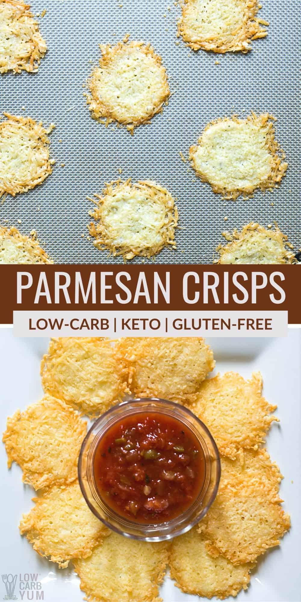 parmesan crisps pinterest image