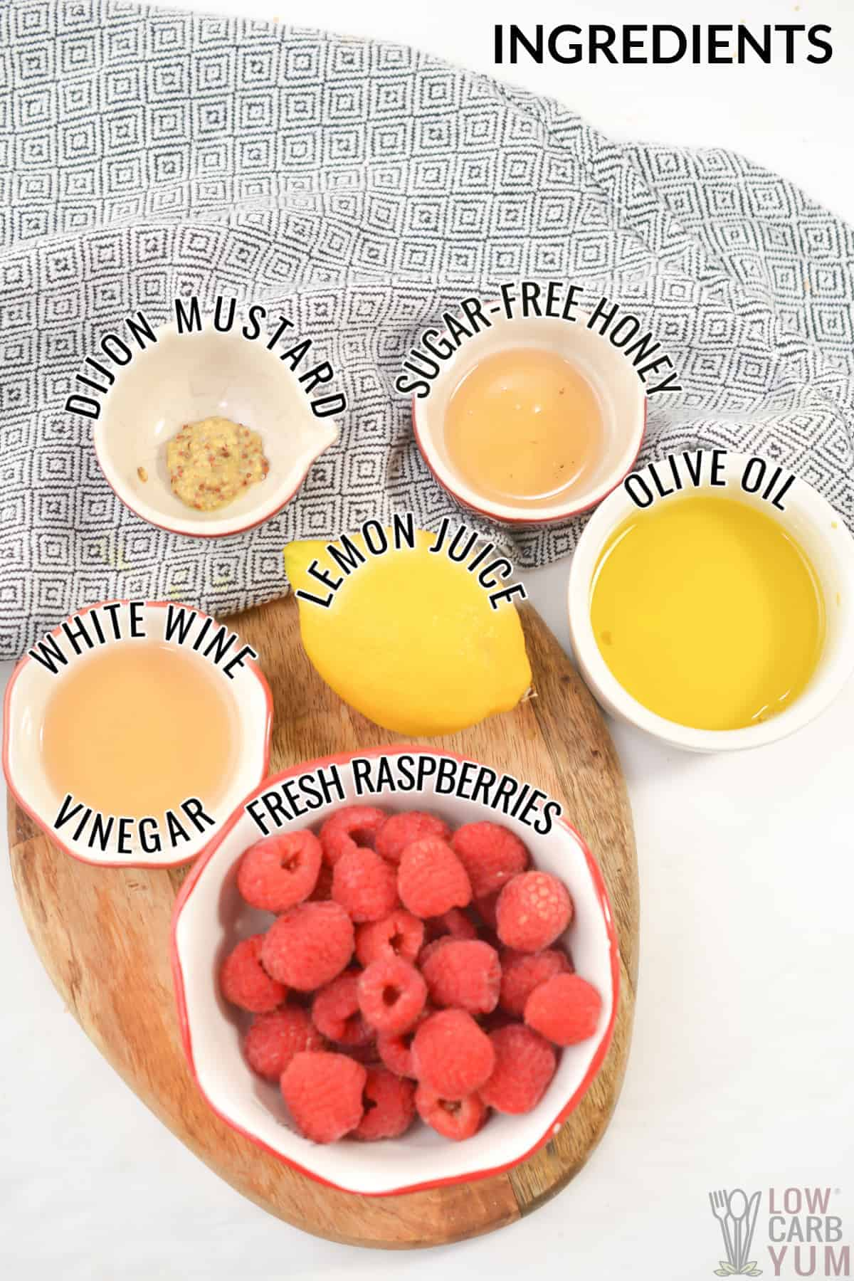 raspberry vinaigrette recipe ingredients
