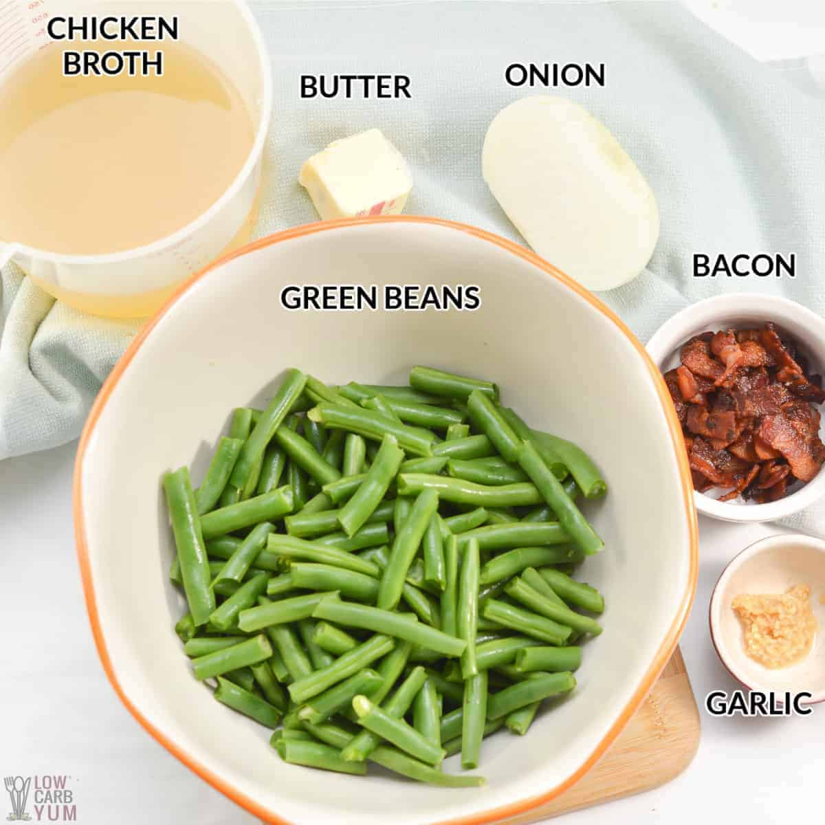 southern style green beans ingredients