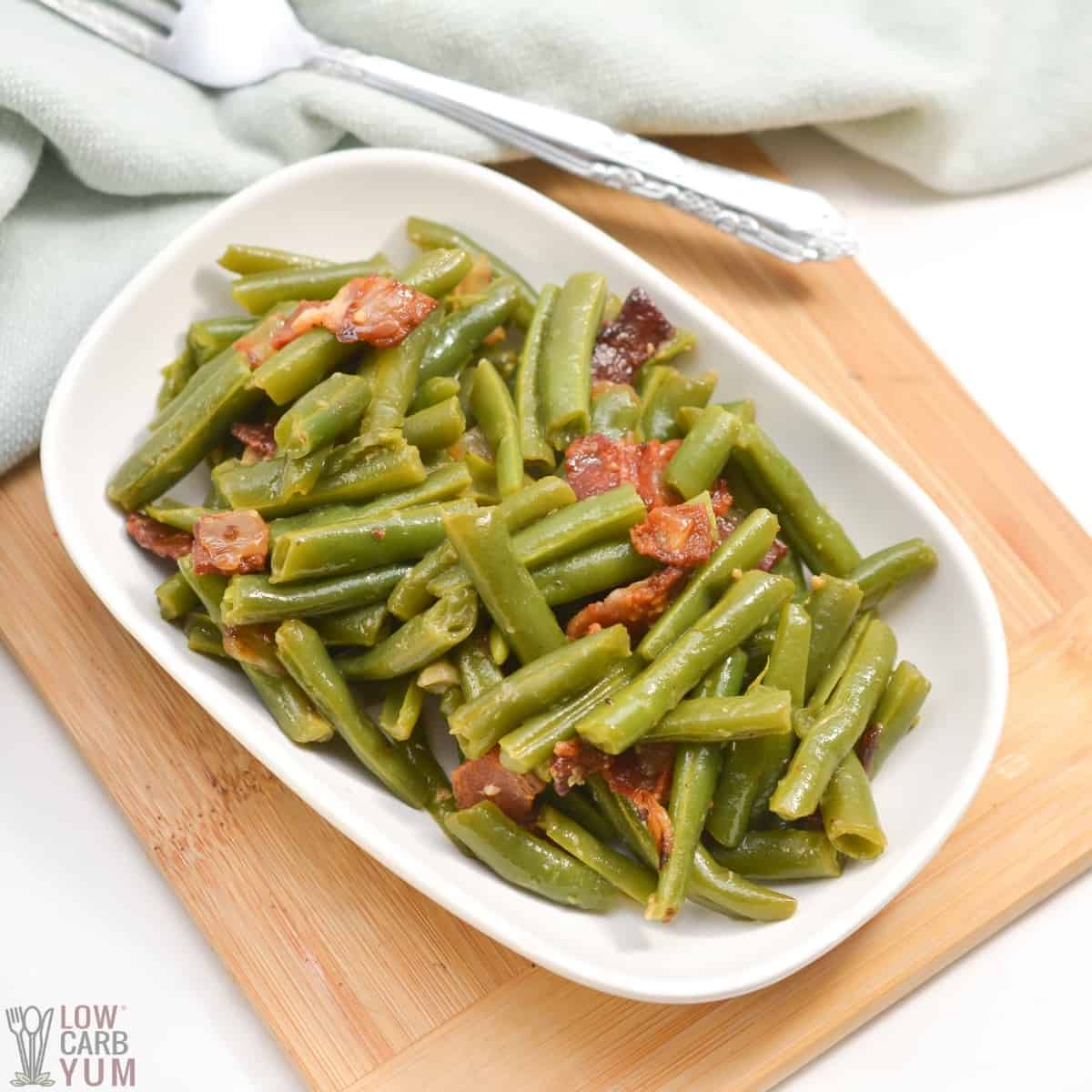 southern style green beans recipe featured image