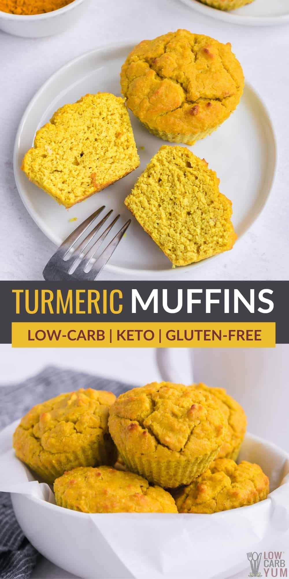 turmeric muffins pintrest image