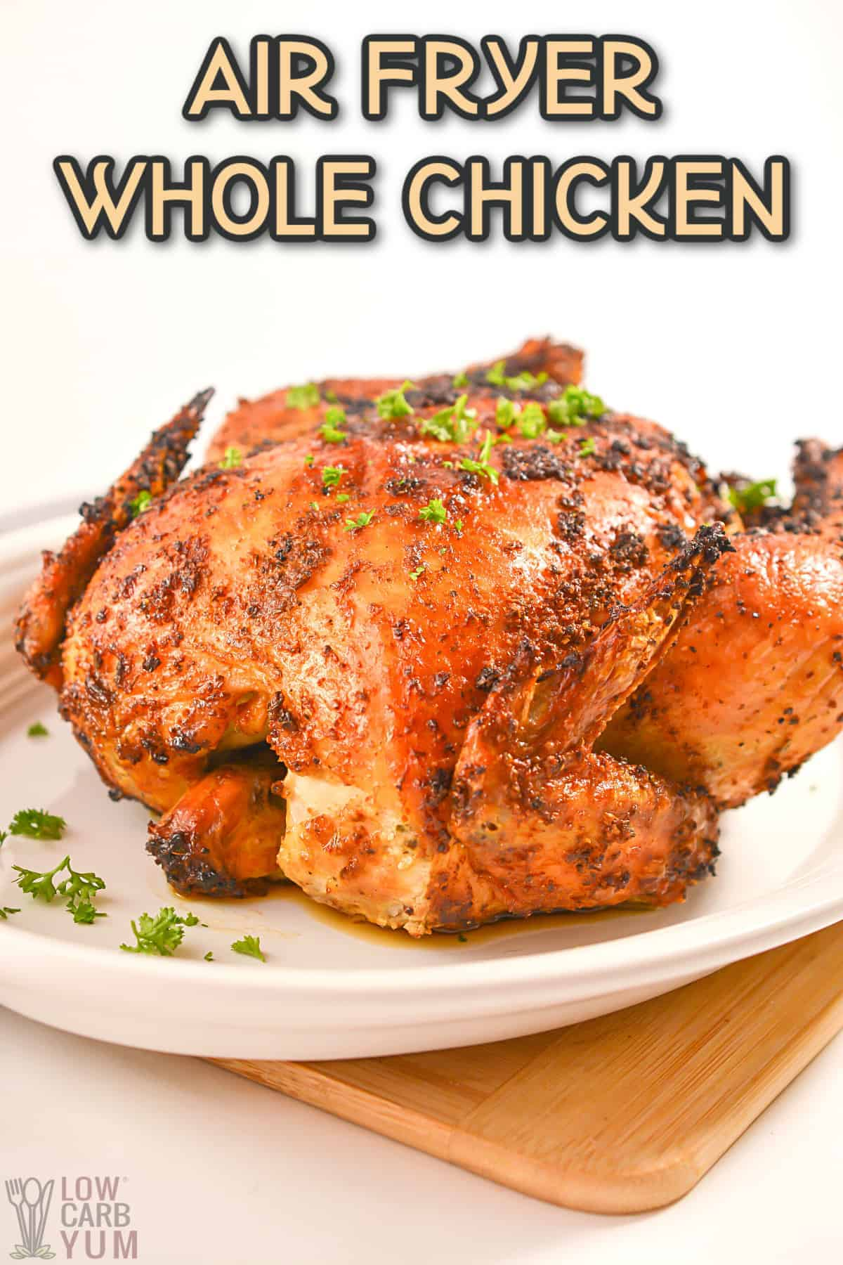 air fryer whole chicken cover image