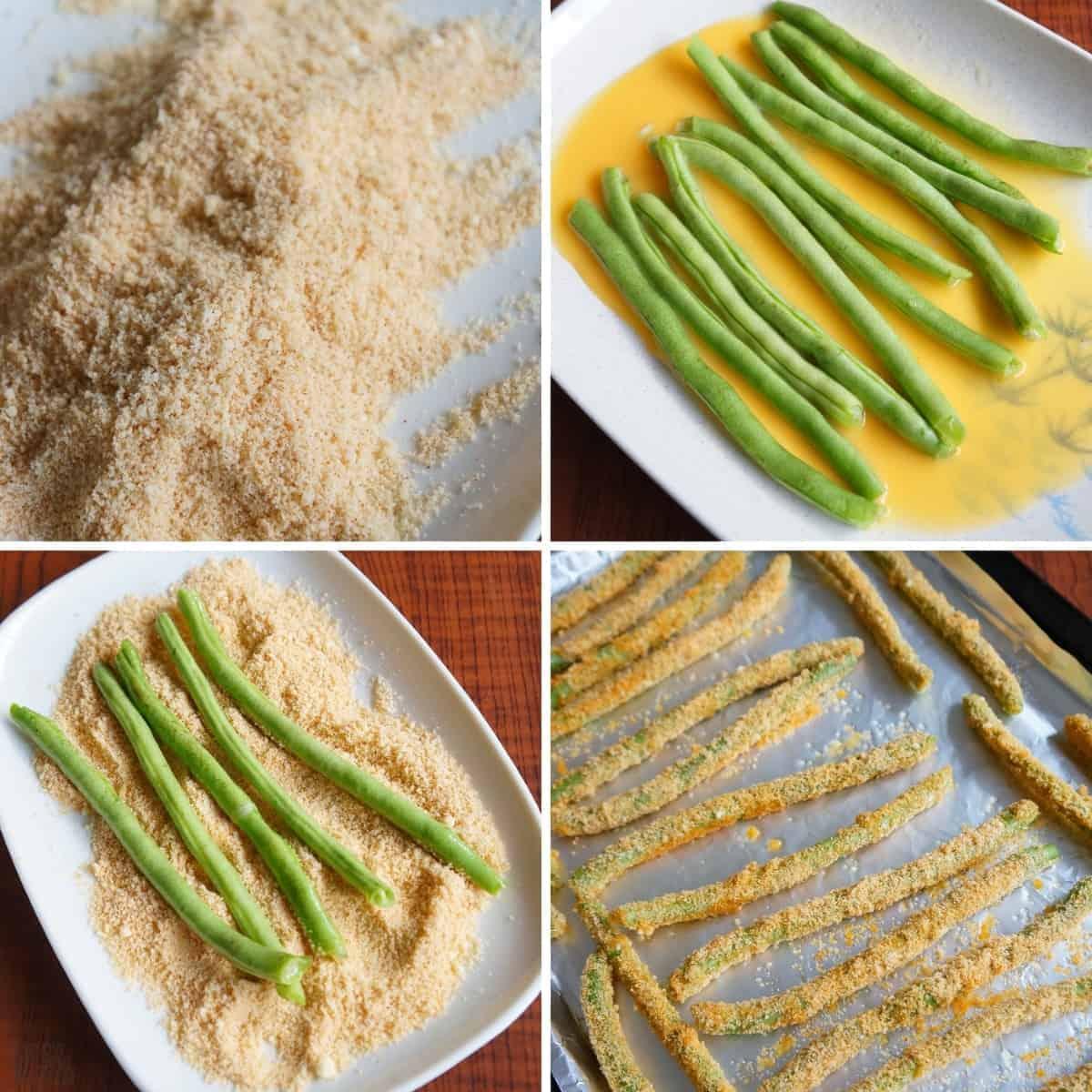gluten free green bean fries final recipe steps