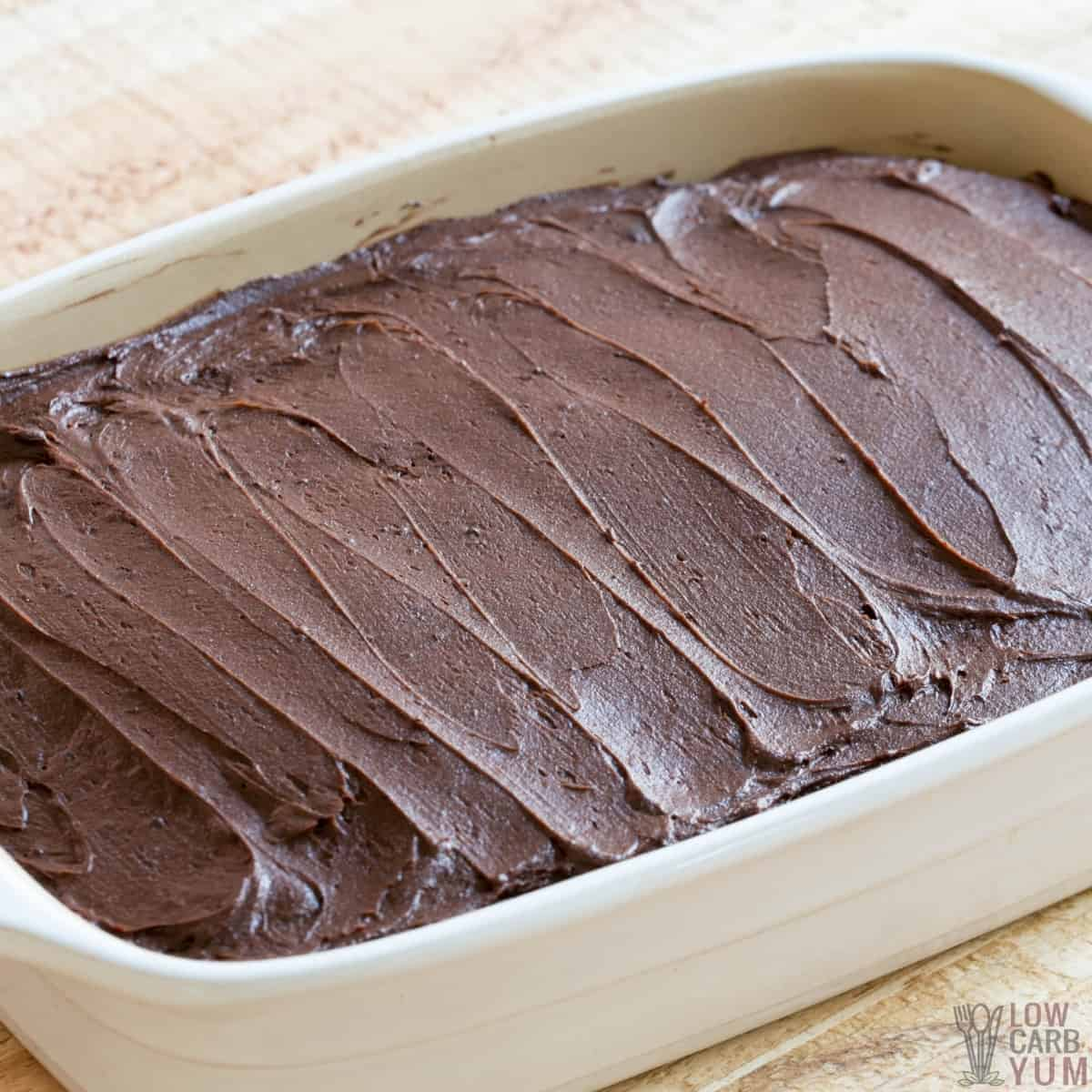 keto chocolate frosting featured image