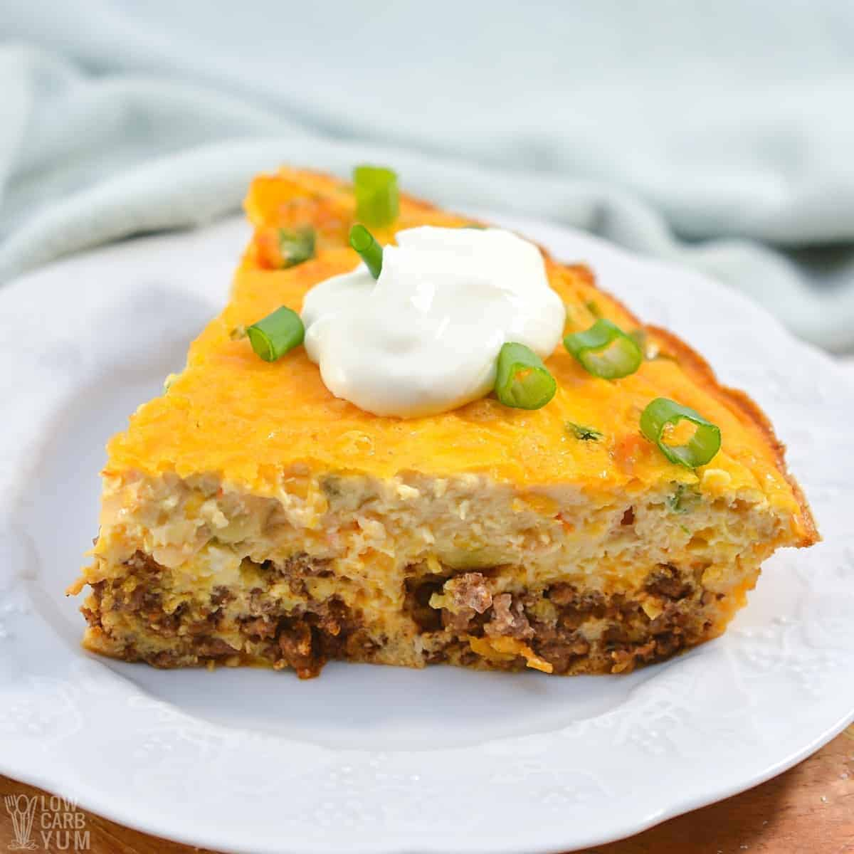 taco pie slice featured image