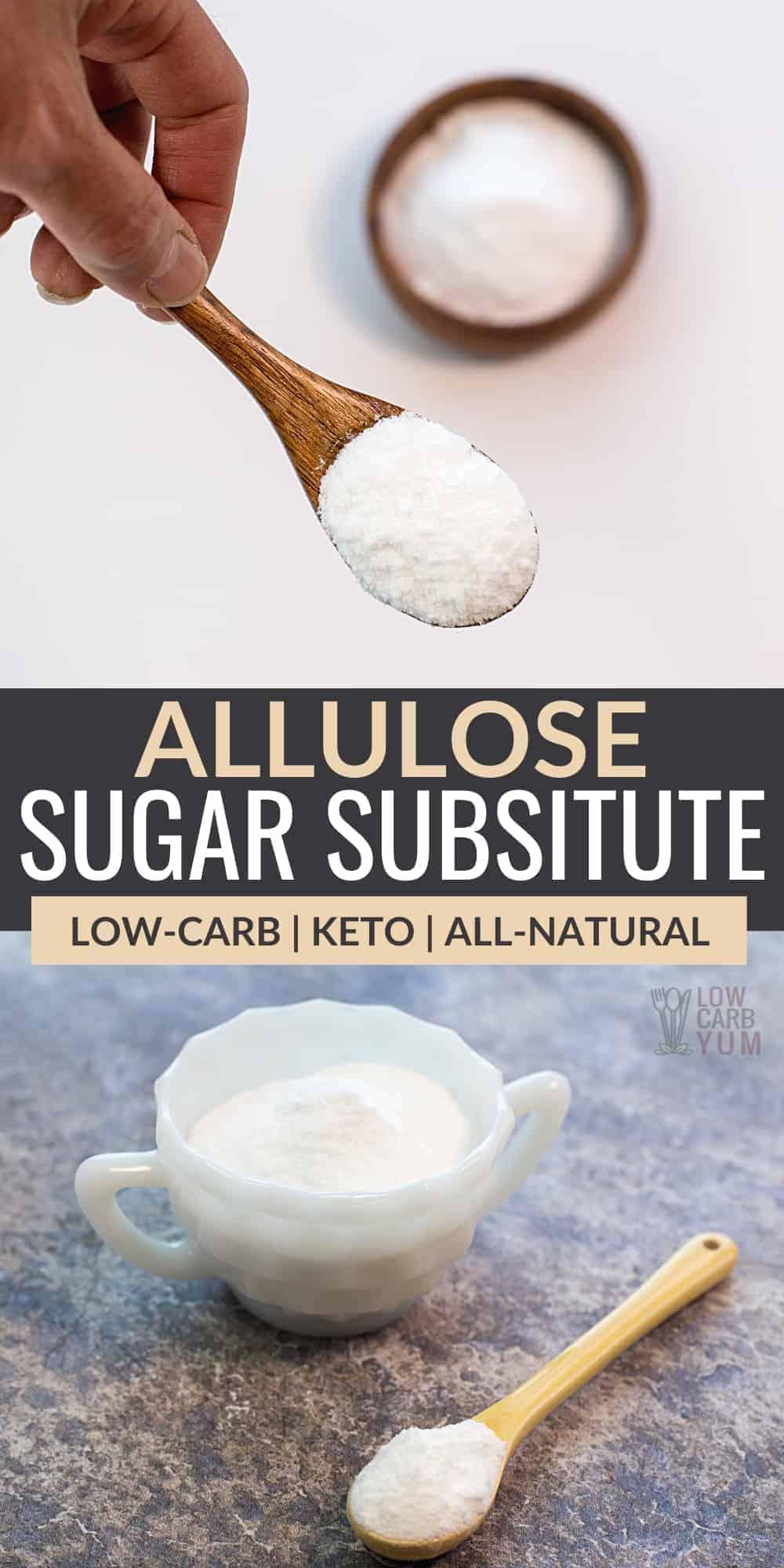 allulose sweetener pinterest image