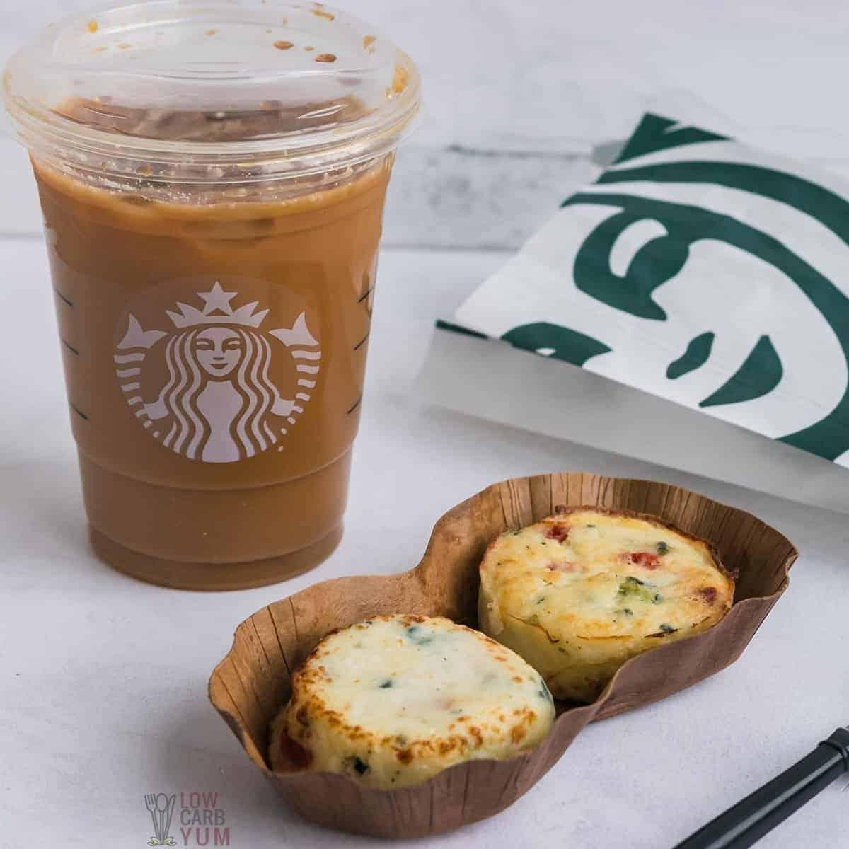 keto starbucks coffee food menu order