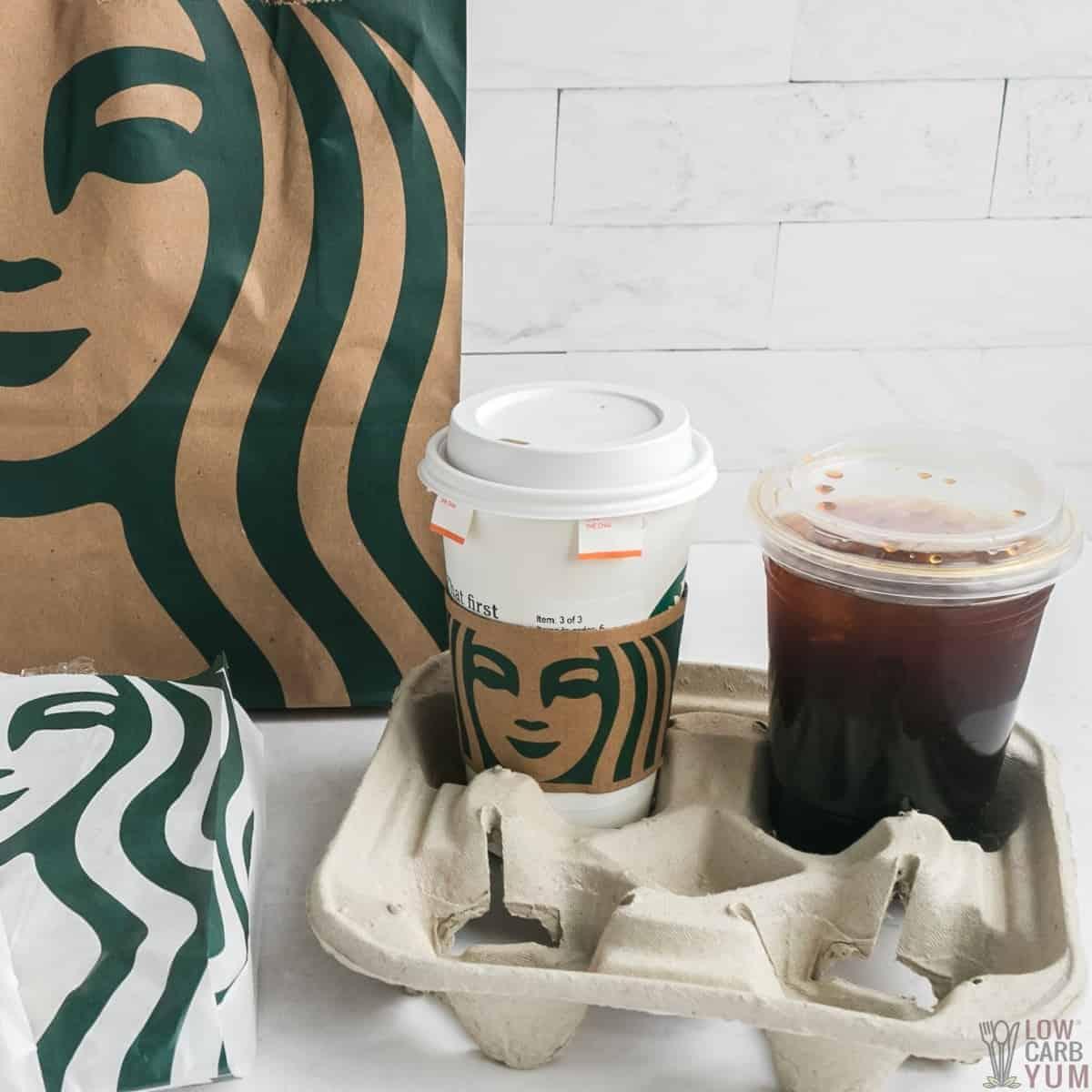keto starbucks drinks order