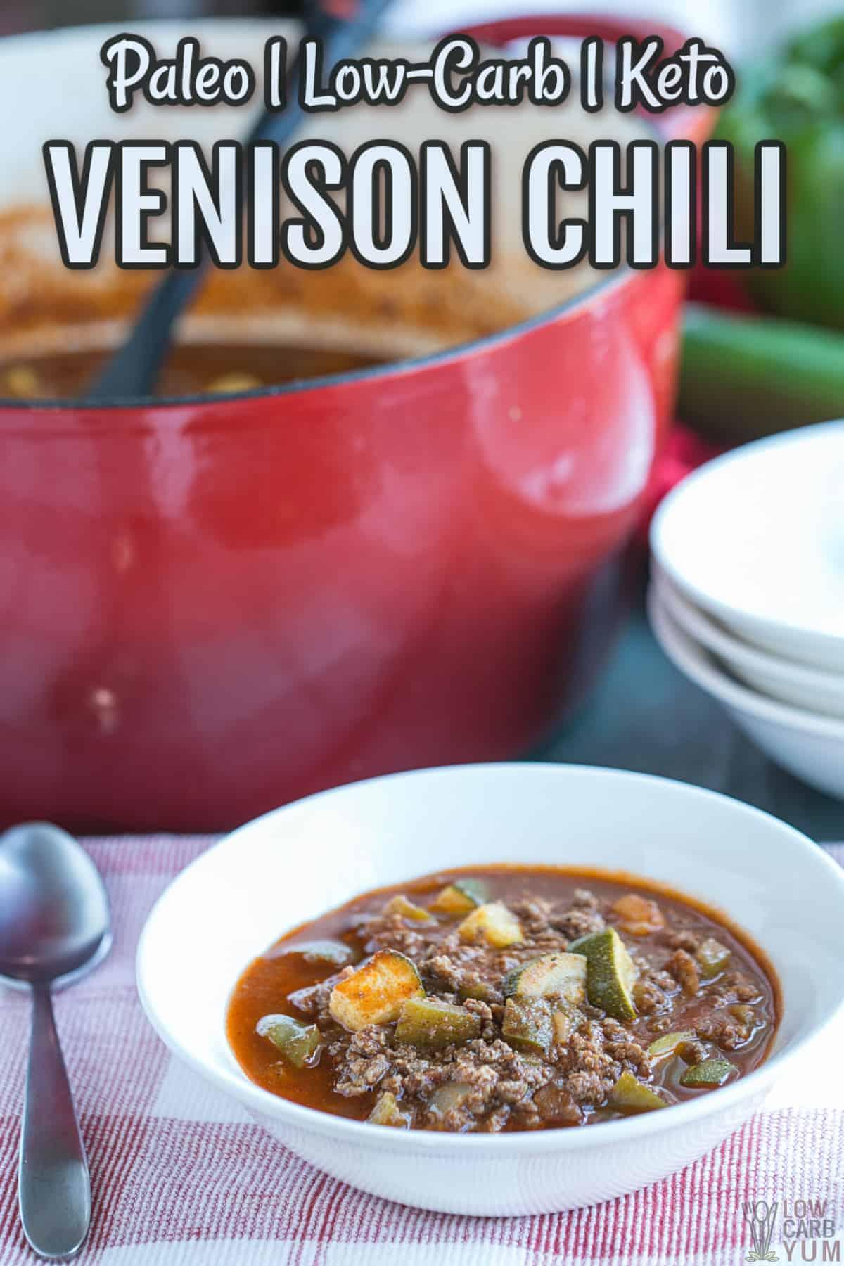 recipe for venison chili cover image