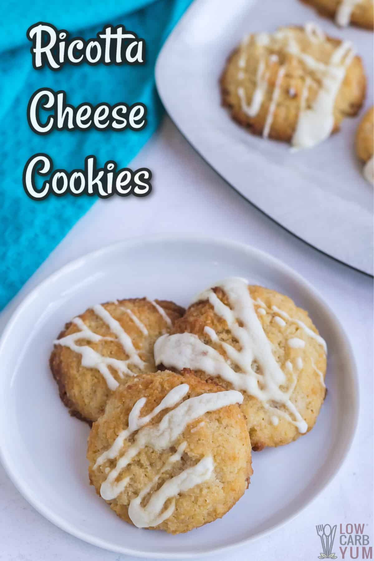 ricotta cheese cookies recipe cover image