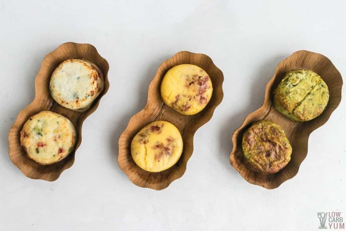 starbucks keto food: 3 different egg bites