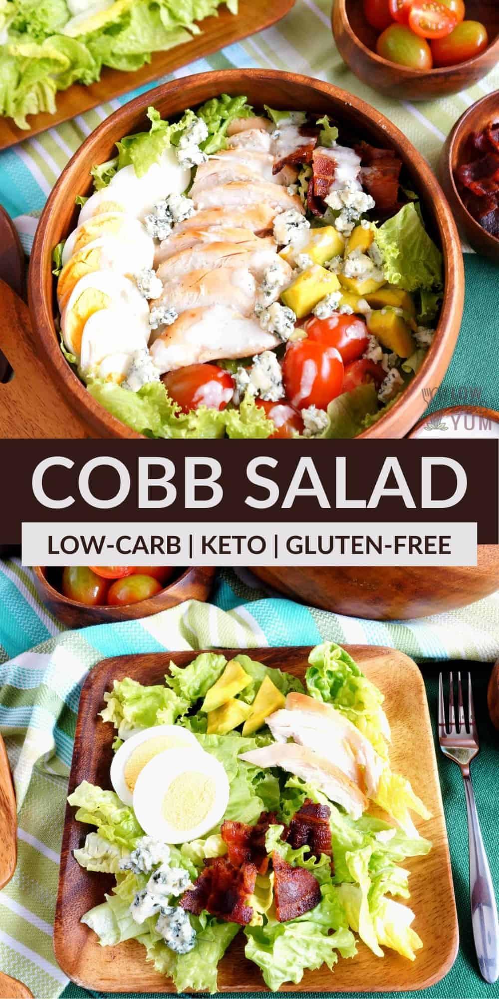 cobb salad pinterest image