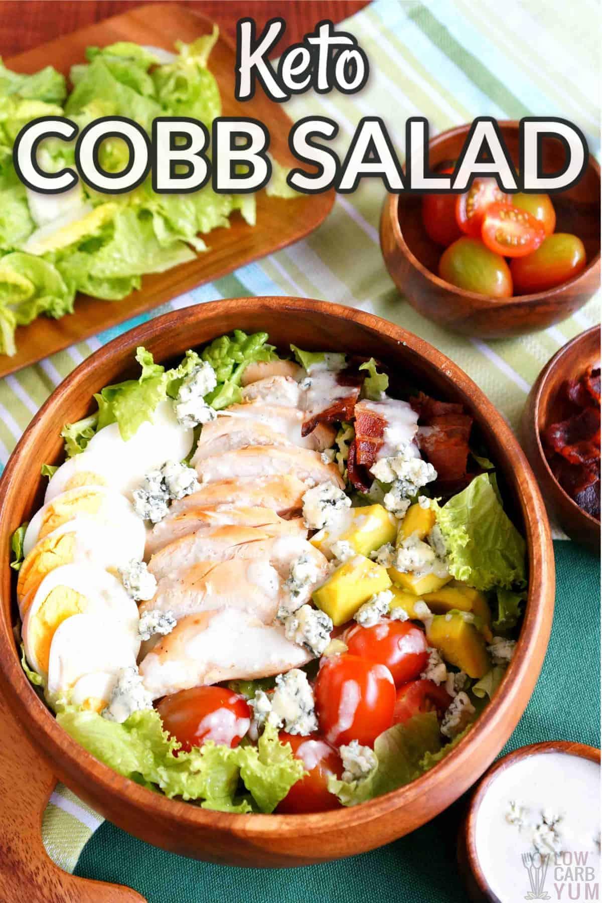 keto cobb salad cover image