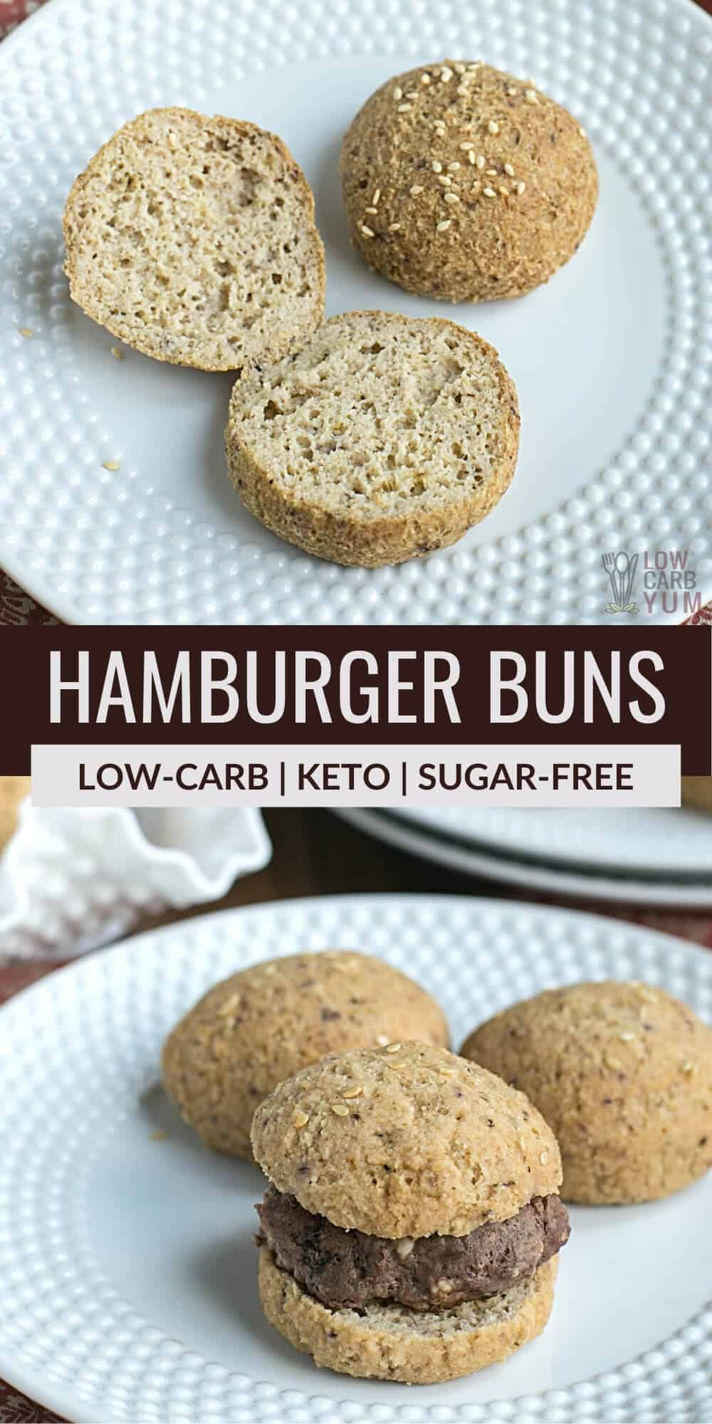 Delicious Keto Hamburger Buns
