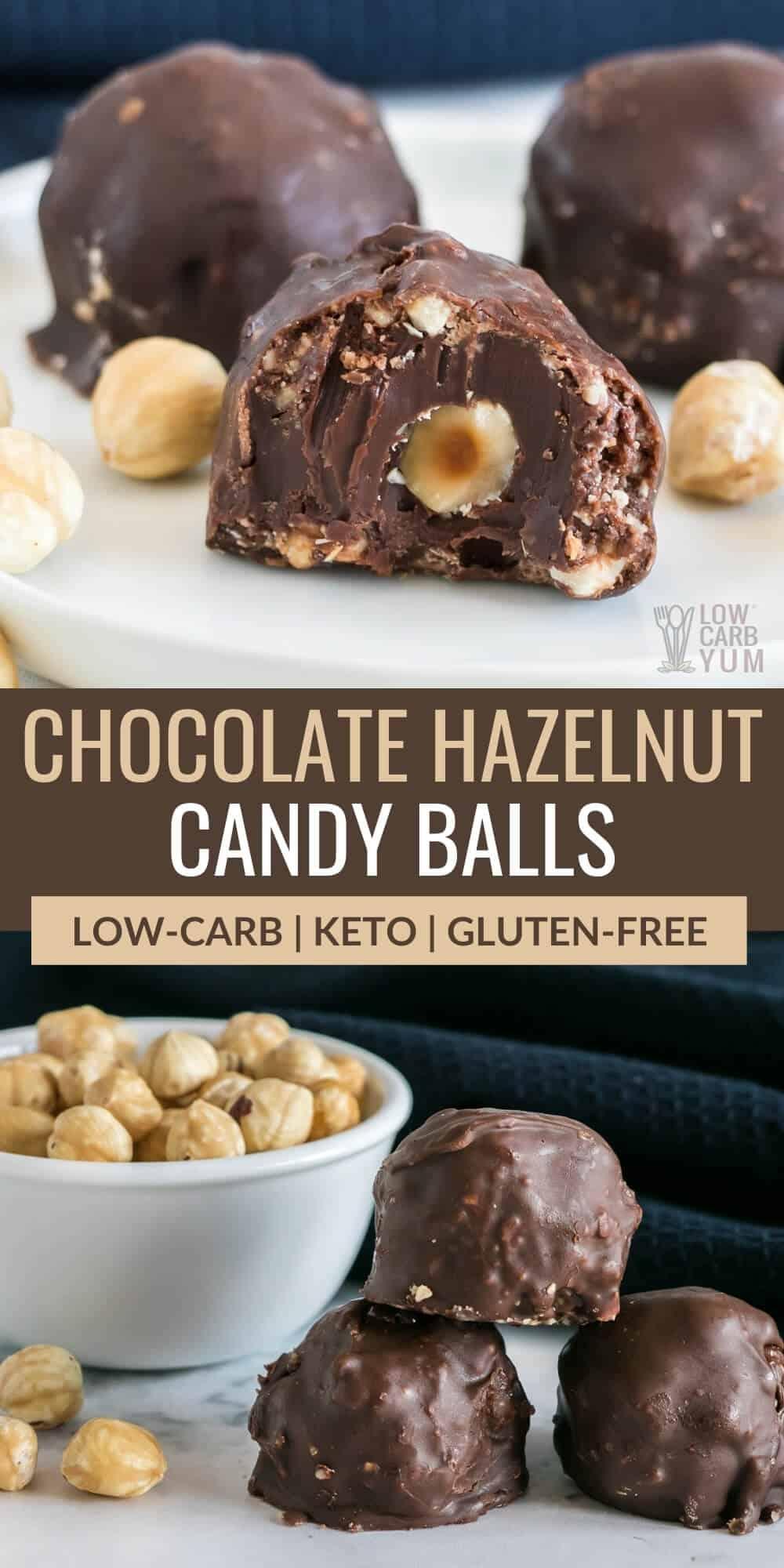 chocolate hazelnut candy balls pinterest image