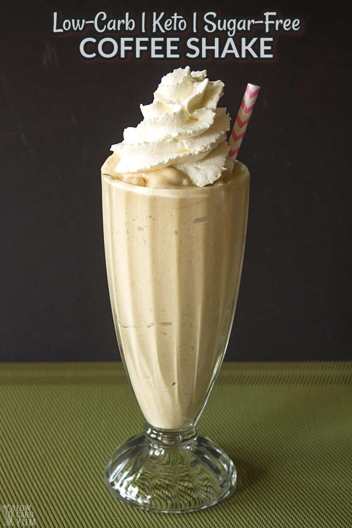 keto coffee shake cover image