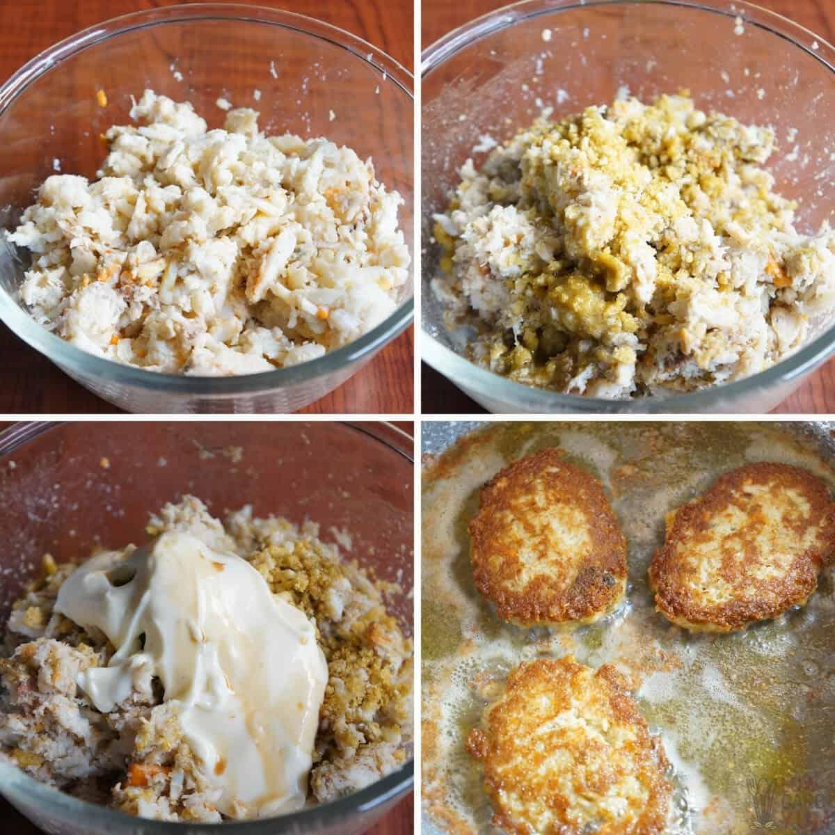 keto crab cakes recipe final preparation