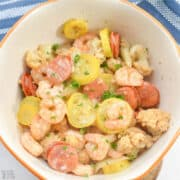 keto shrimp boil featured image