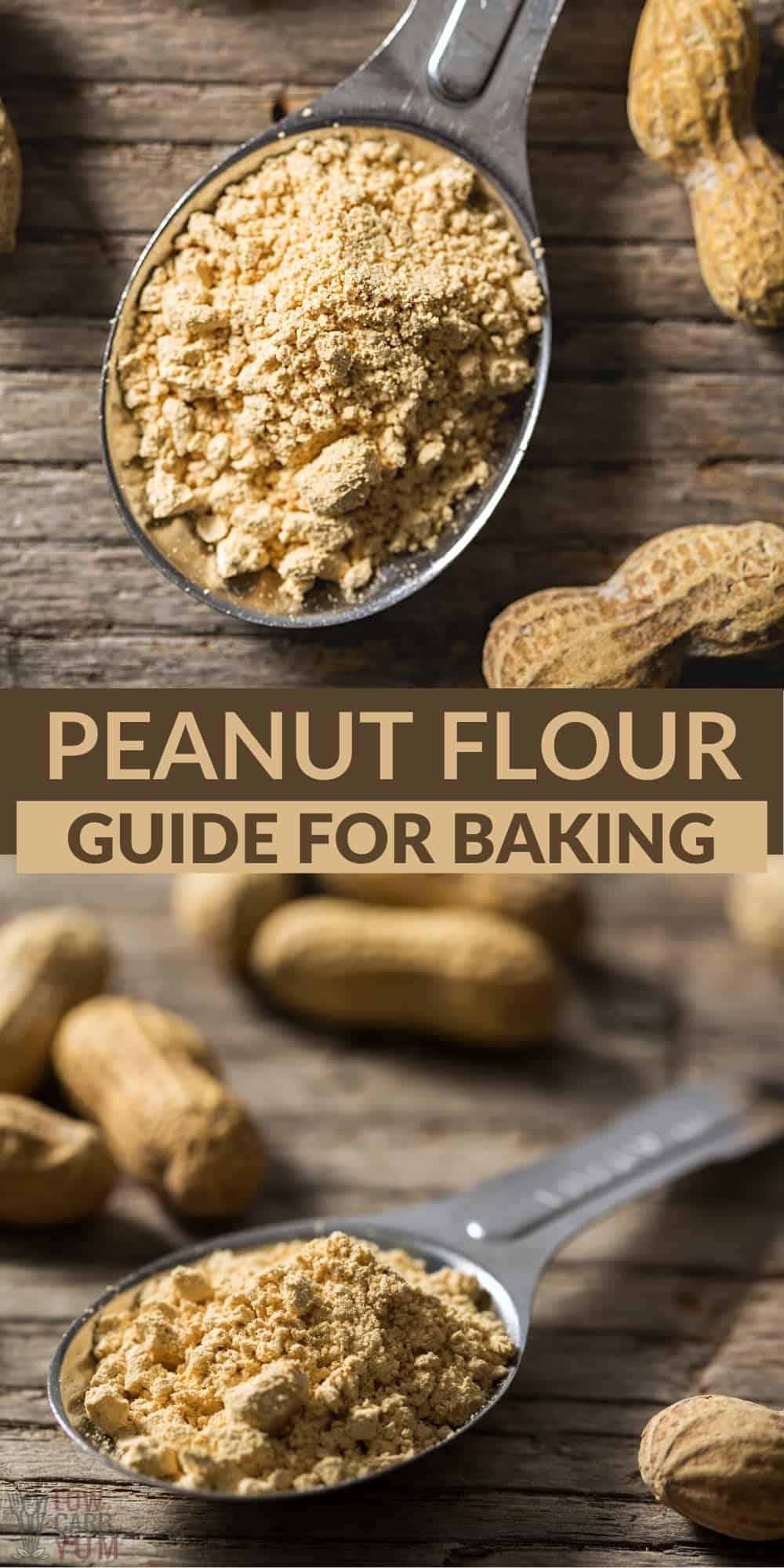 peanut flour pin