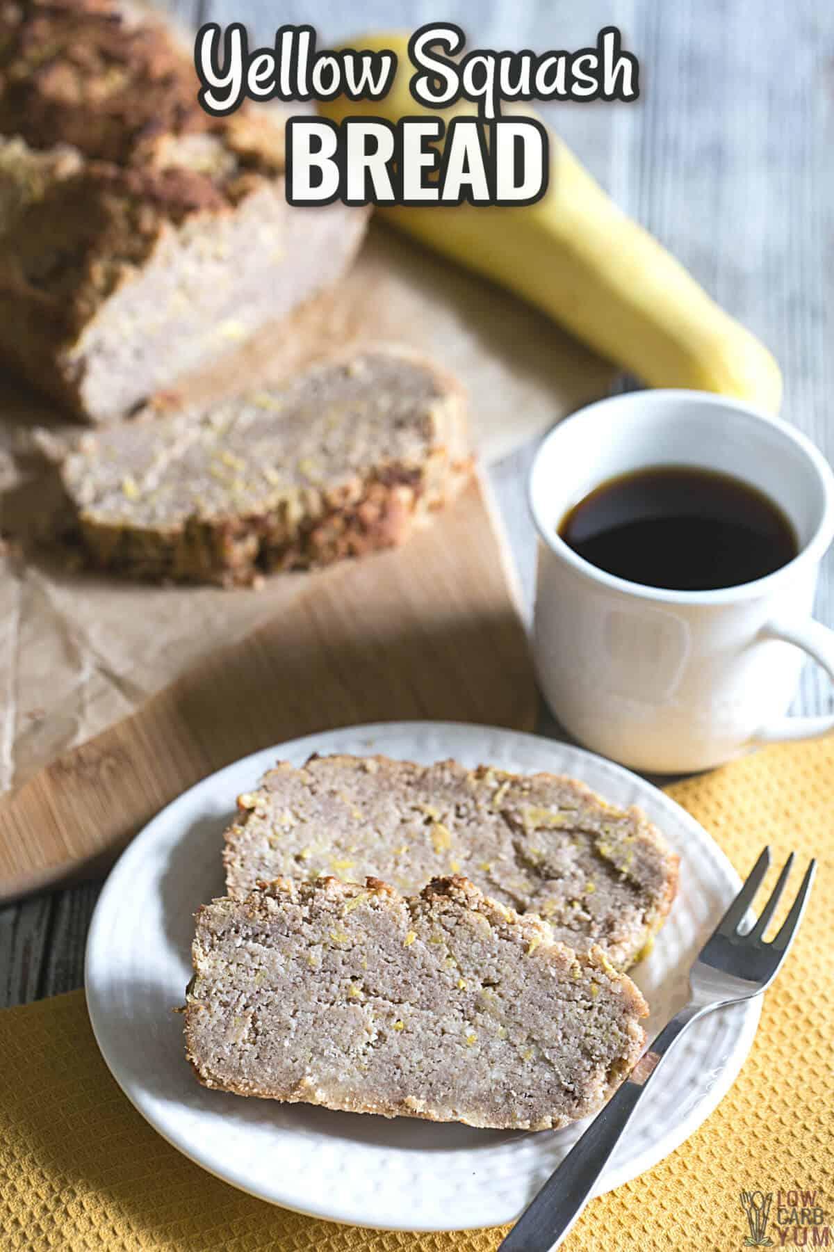 yellow squash bread cover image