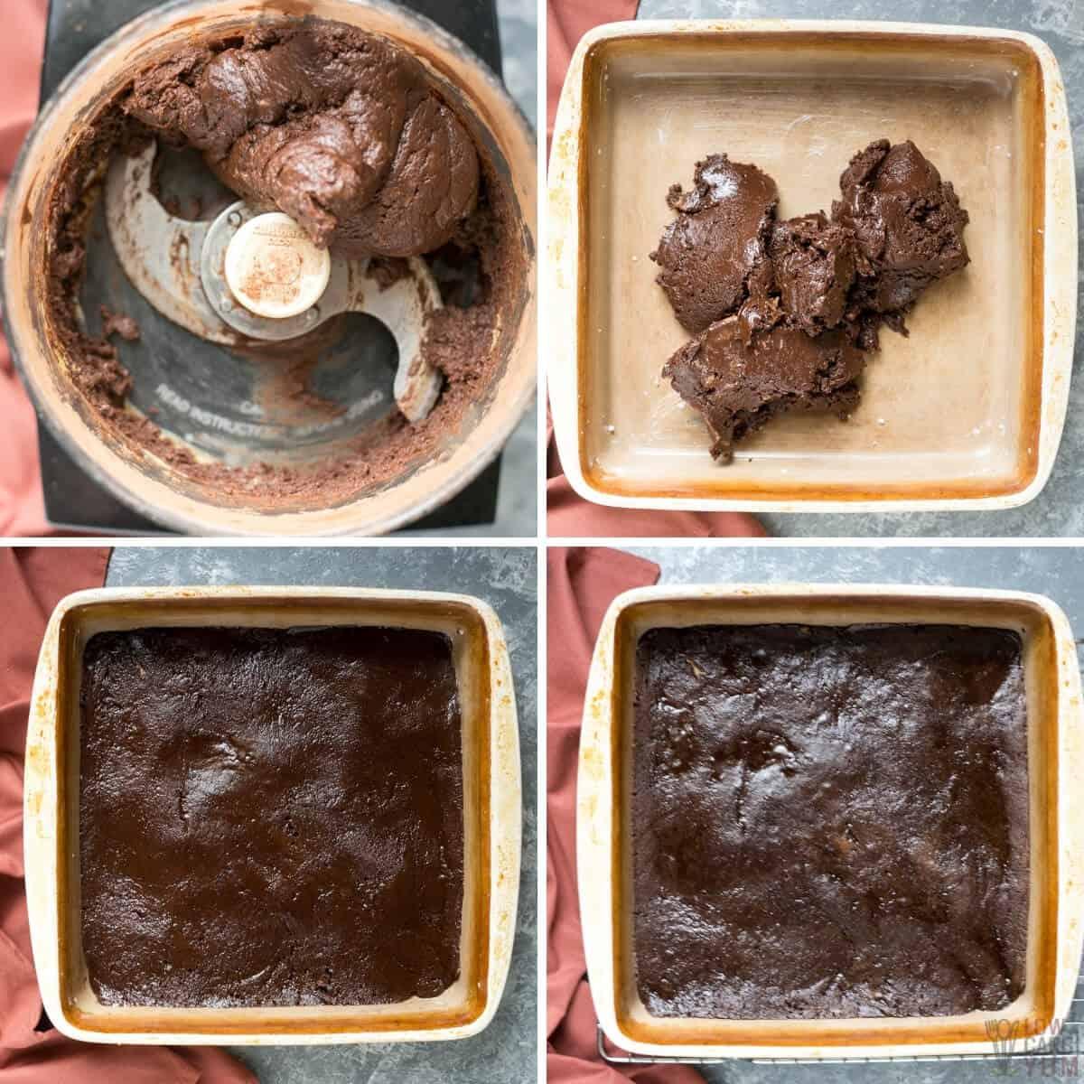 bake 5-ingredient brownie batter