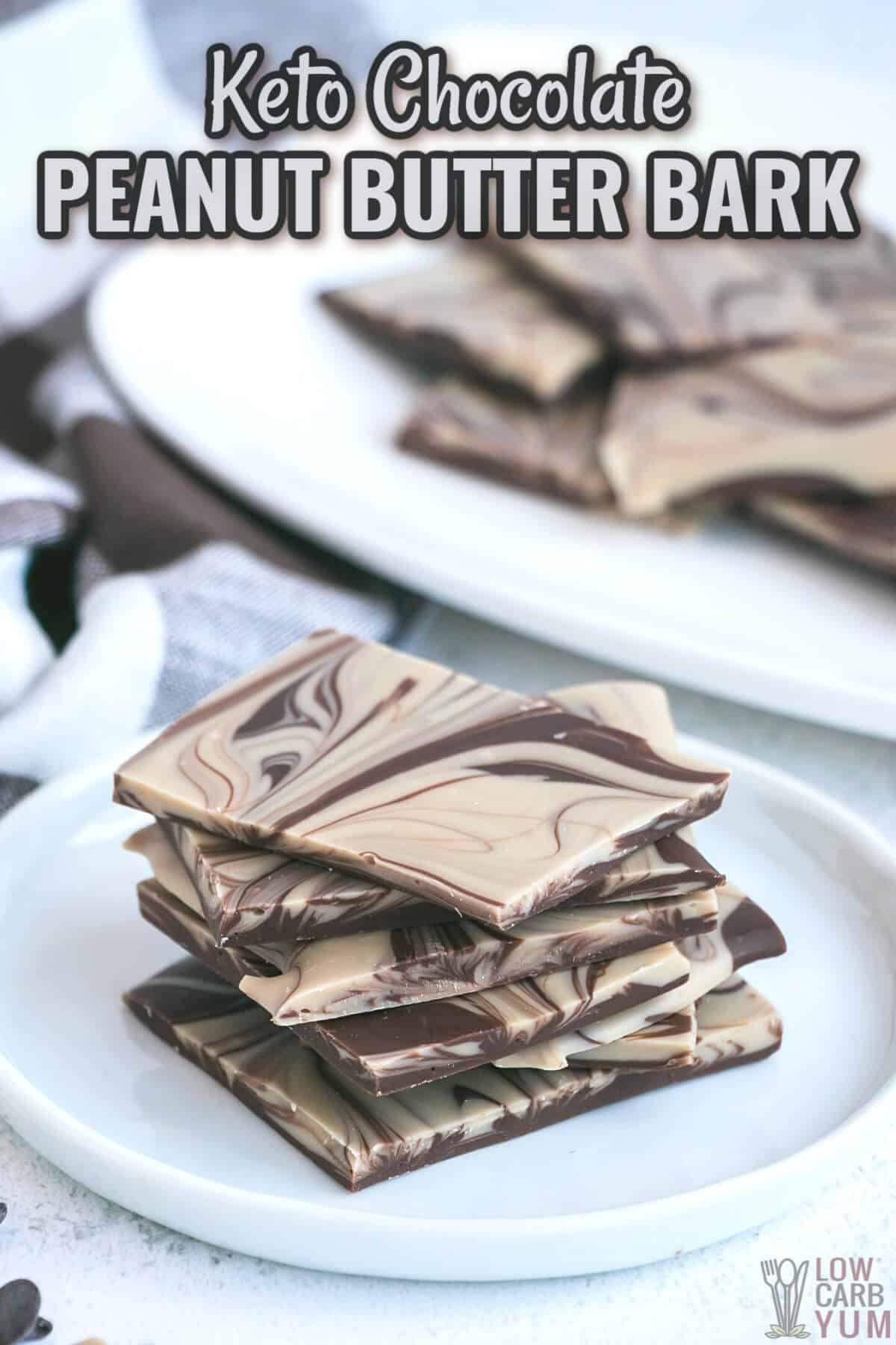 chocolate peanut butter bark cover image