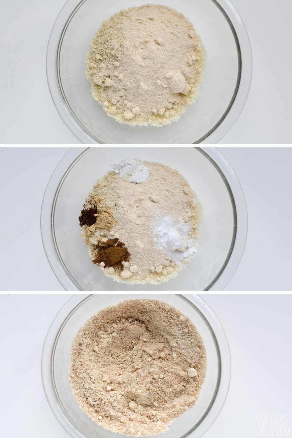dry mixture for pumpkin cookies