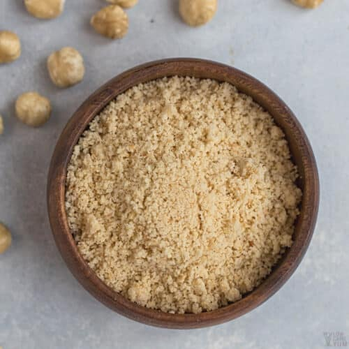 hazelnut flour featured image