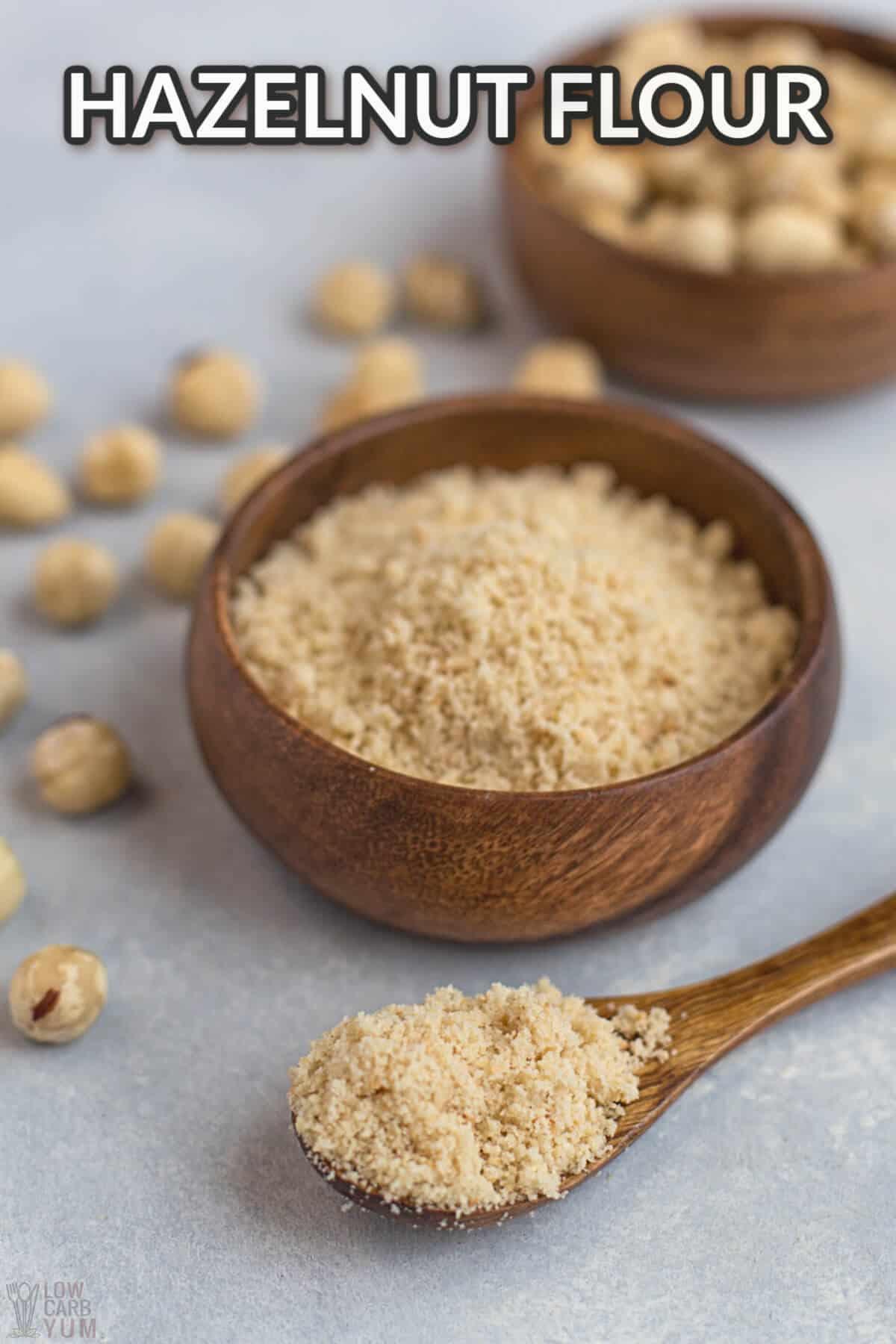 hazelnut flour cover image