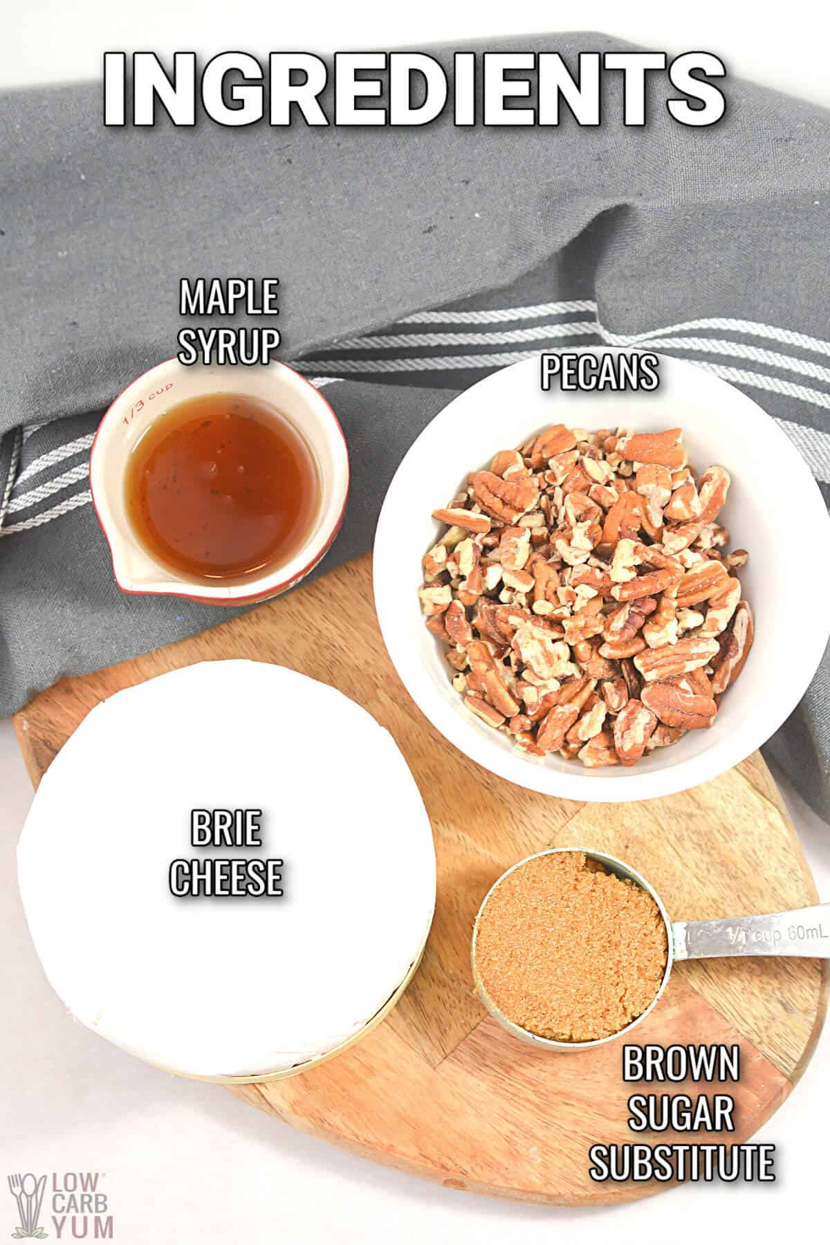 oven baked brie recipe ingredients