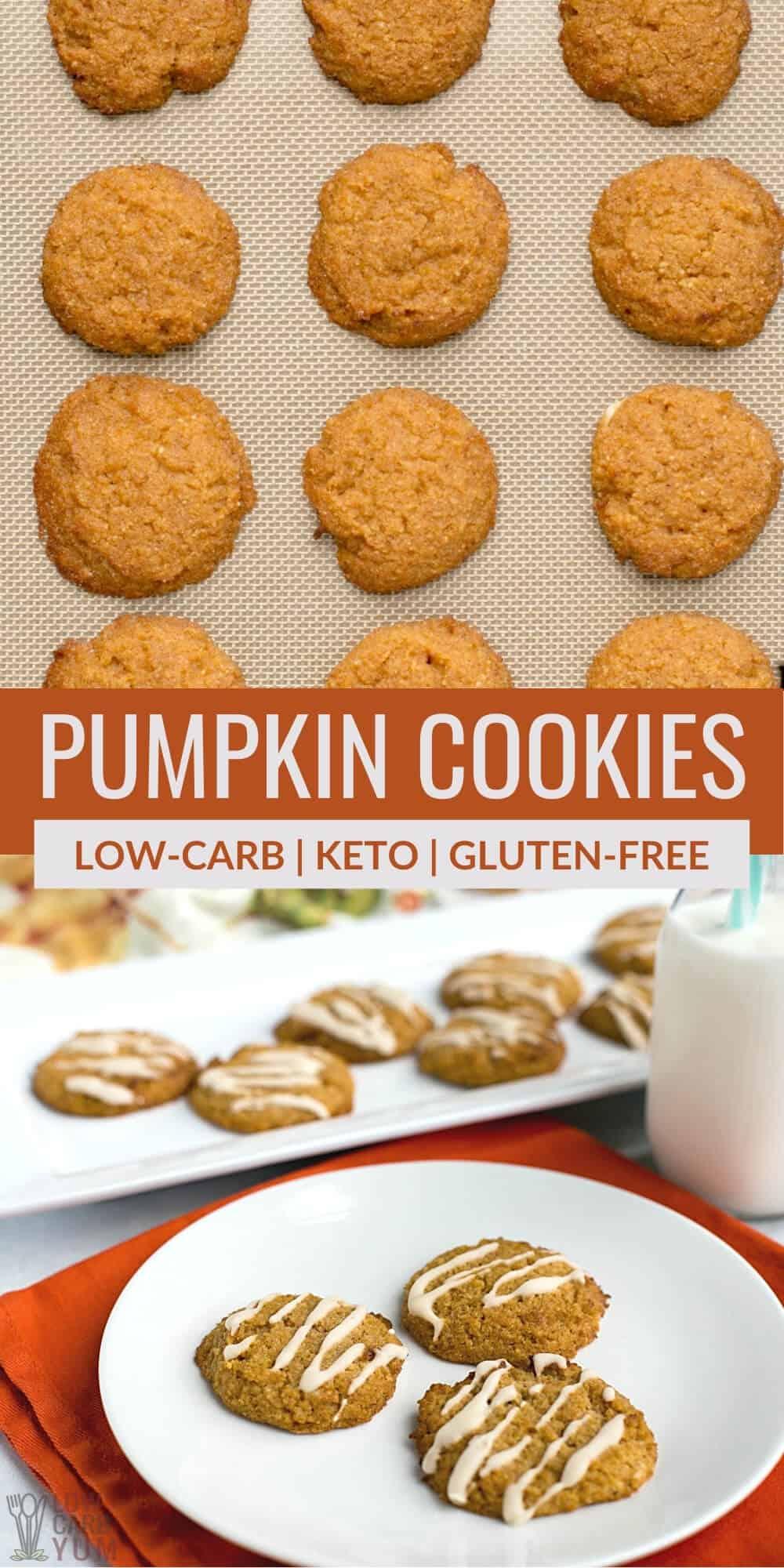 pumpkin cookies pinterest image