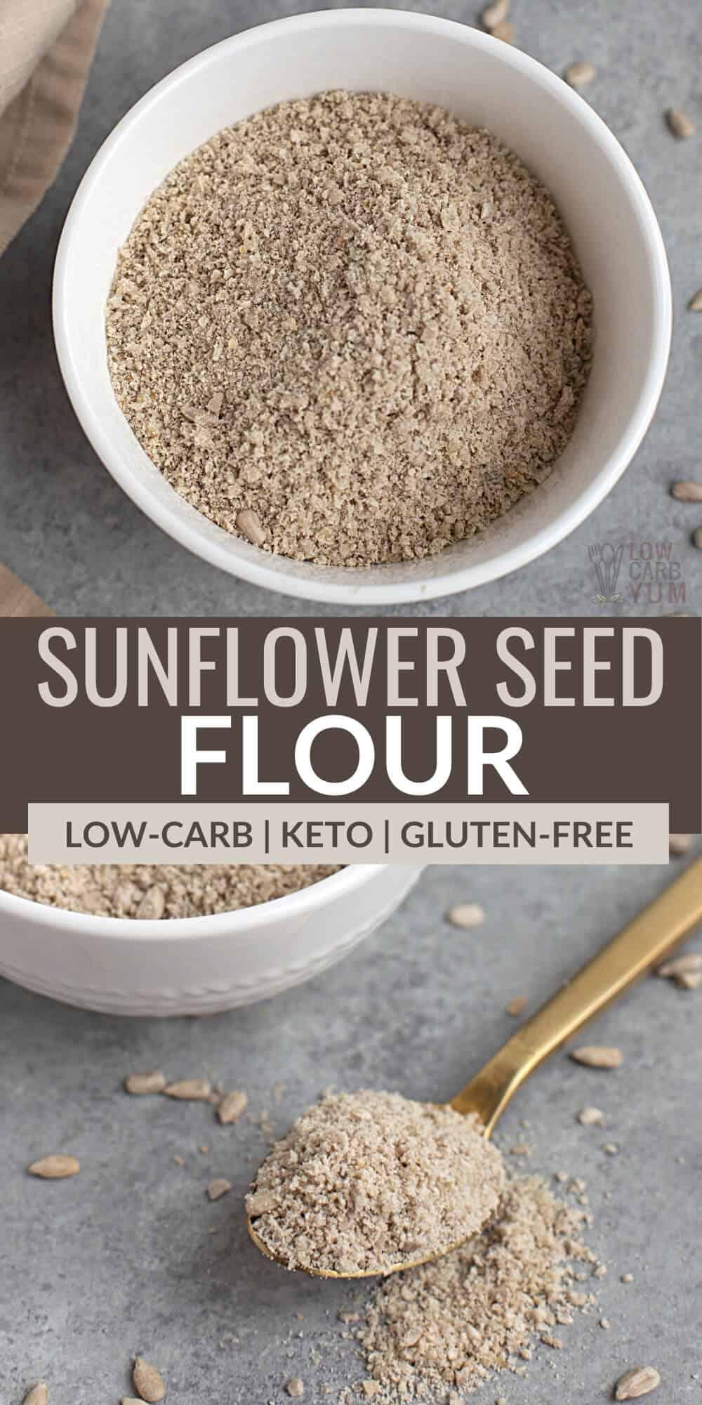 sunflower seed flour pinterest image