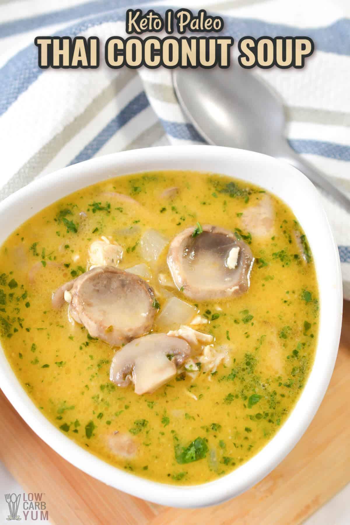 thai coconut soup cover image