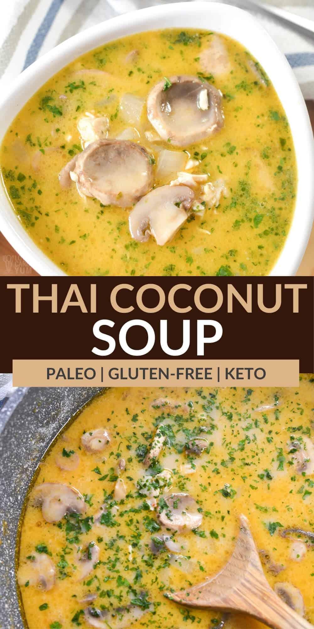 thai coconut soup pinterest image