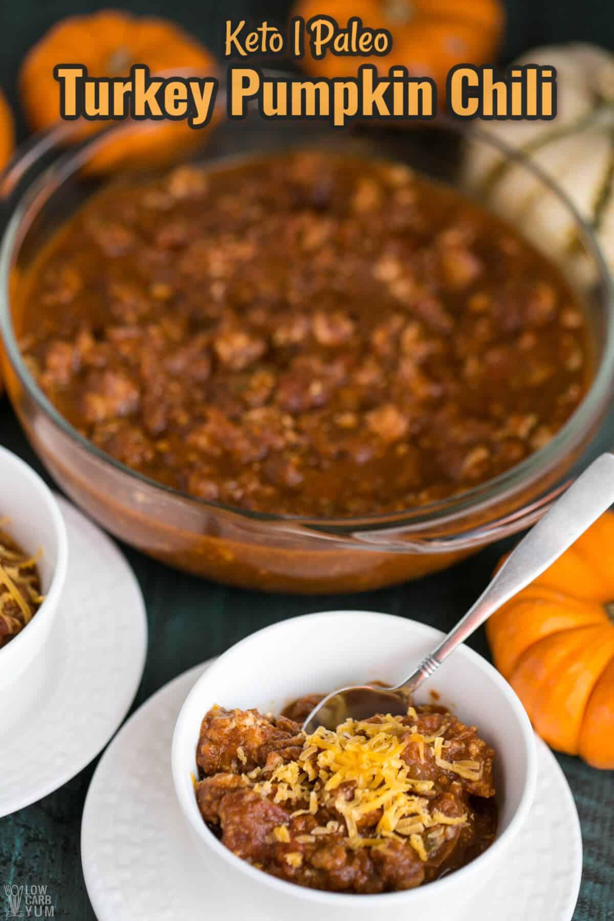 turkey pumpkin chili cover image