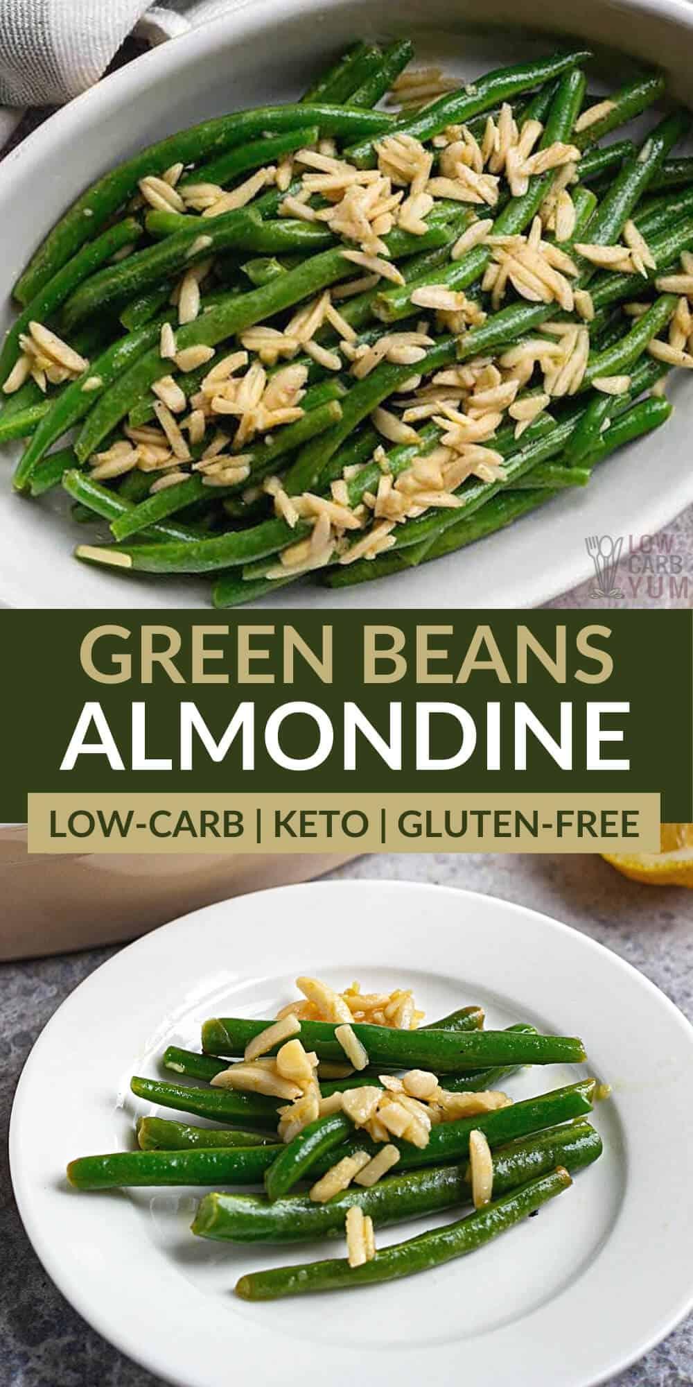 green beans almondine pinterest image