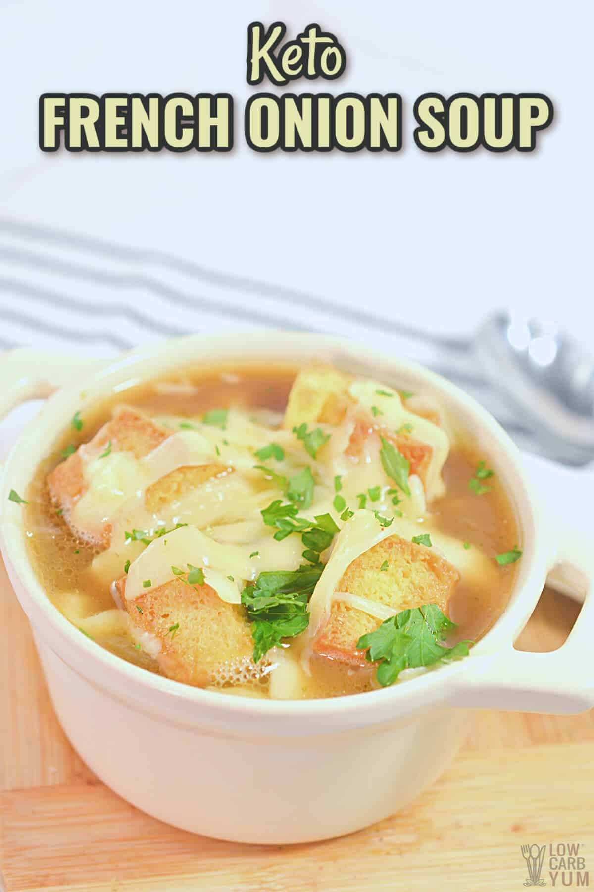 keto french onion soup cover image