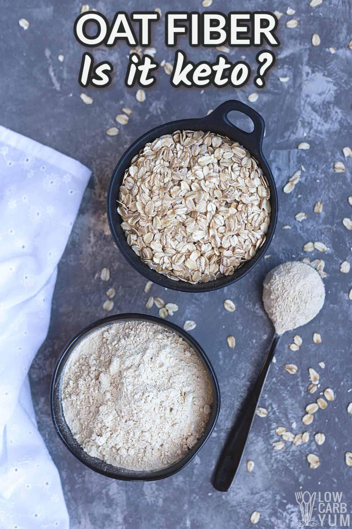 oat fiber is it keto cover image