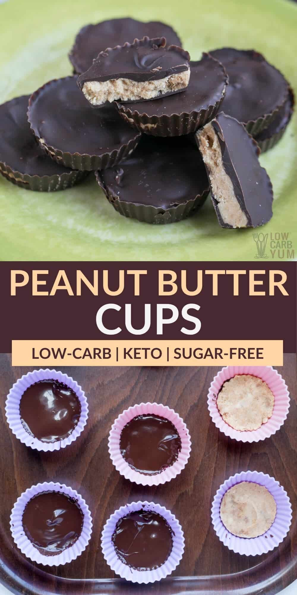 peanut butter cups pinterest image