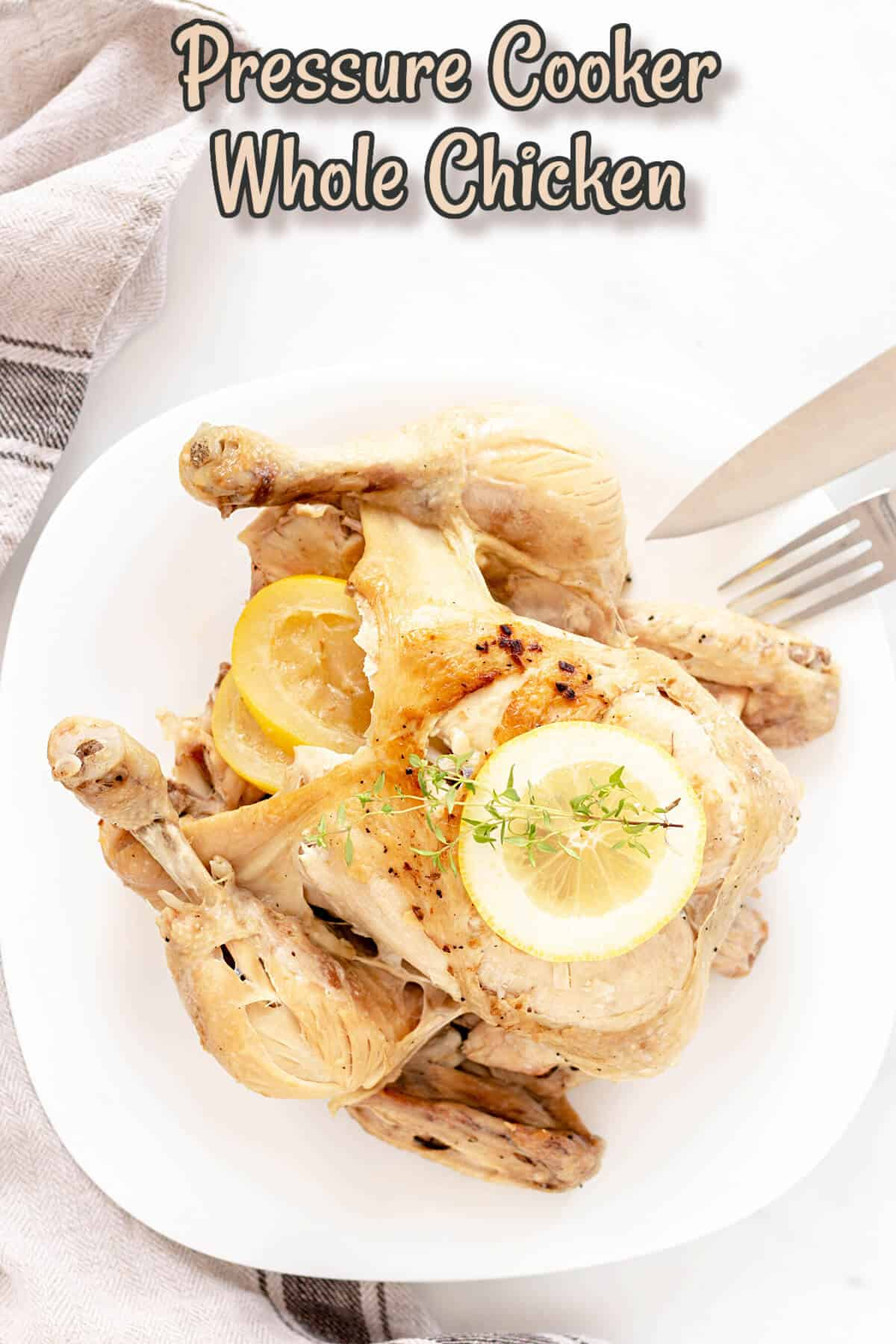 pressure cooker whole chicken cover image