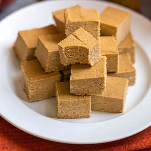 pumpkin fudge featured image